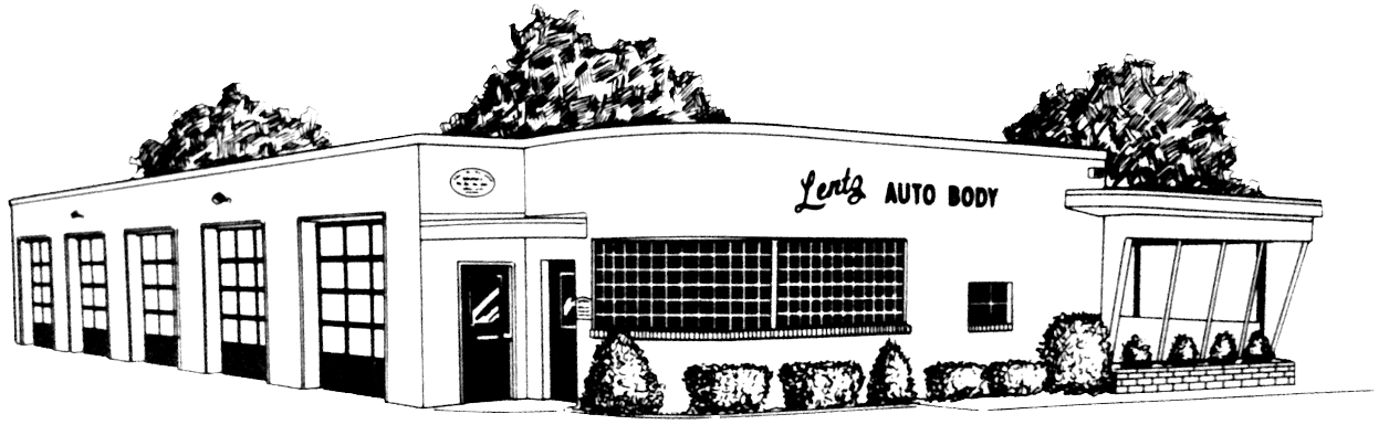 Lentz Auto Body sketch